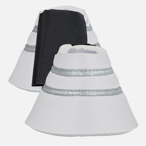 Horze Thun Bell Boots - White