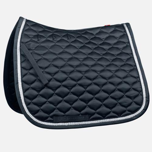B Vertigo Aria Dressage Saddle Pad - Dark Navy