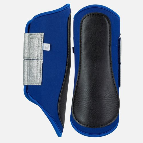 Horze Thun Brushing Boots - Mazarine Blue