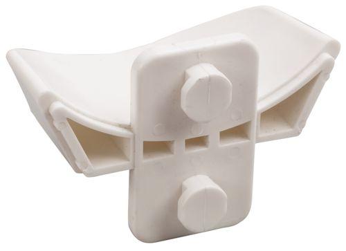 Equi-Essentials Keyhole Jump Rail & Cup Set - White