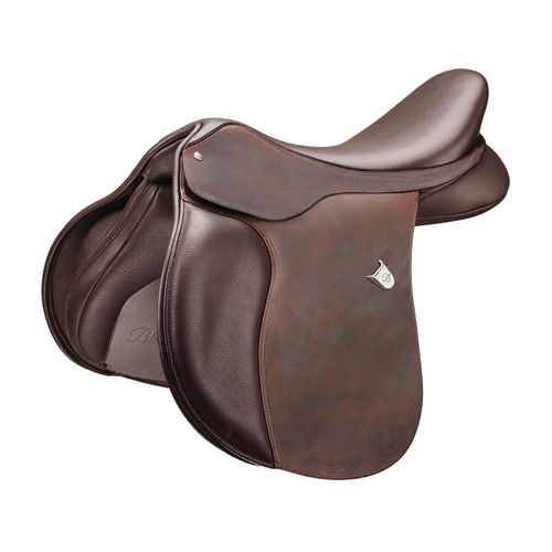 Bates All Purpose Square Cantle Saddle w/Heritage Leather - Classic Brown
