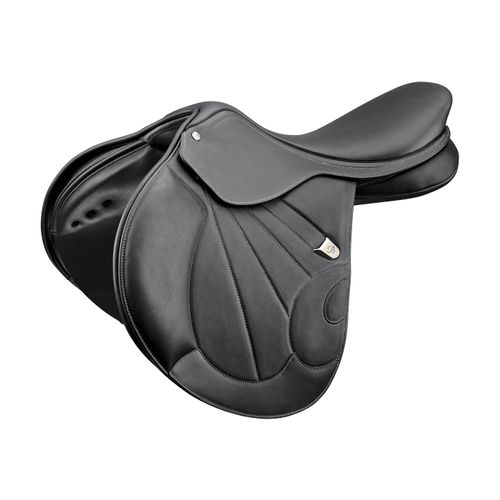Bates Victrix Jump Saddle - Classic Black