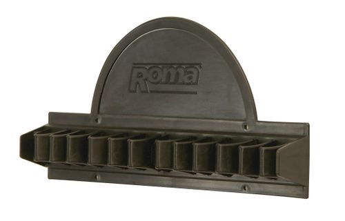 Roma Whip Rack - Black