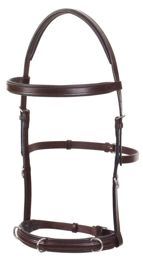 Camelot Padded Lunging Bridle - Brown