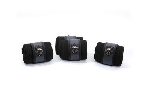 Alessandro Albanese Platinum Fleece Bandages - Black