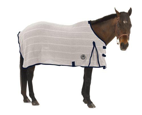 Centaur Irish Knit Sheet - Natural/Navy
