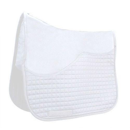 T3 Matrix Traditional Dressage Half Pad Schooling Liner - White
