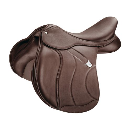 Bates All Purpose Square Cantle Saddle w/Luxe Leather - Classic Brown