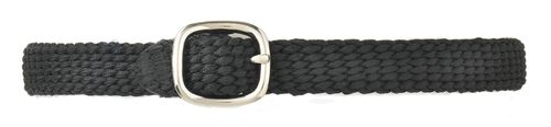 Camelot Braided Nylon Spur Straps - Black