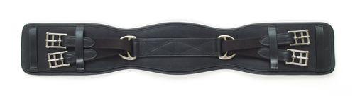 Ovation Humane Overlay Dressage Girth - Black