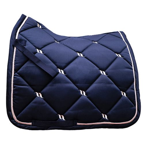 Back on Track Nights Collection Dressage Saddle Pad - Blue