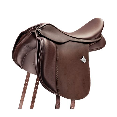 Bates Wide All Purpose Saddle w/Heritage Leather - Classic Brown