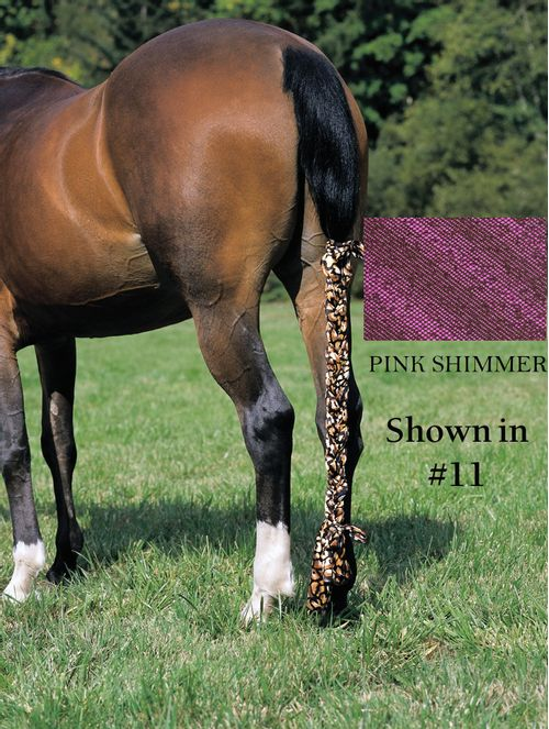 Jammies Three Piece Tail Wrap - Pink Shimmer