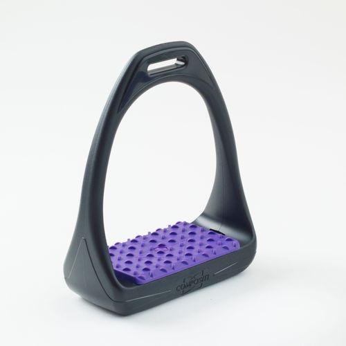 Compositi Reflex 3D Wide Track Stirrups - Purple