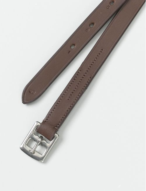 Camelot Small Child's Solid Leathers - Brown