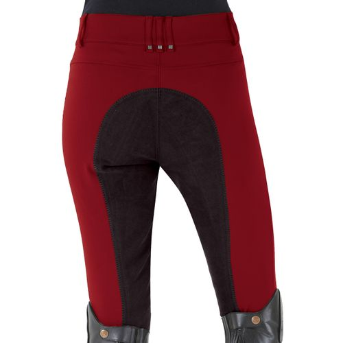 Romfh Women's Sarafina Full Seat Breech - Reo Red