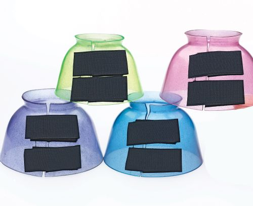 Centaur PVC Jelly Glitter Bell Boots-Lime - Lime
