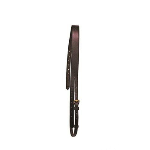Nunn Finer Bridle Crown - Black/Brass