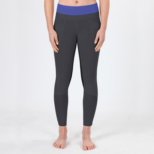 Irideon Women's Synergy Full Seat Tights - Graphite/Ultra Violet