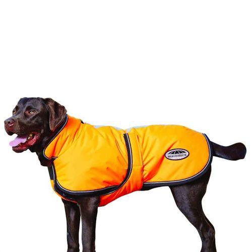 Weatherbeeta 300D ReflectiveParka Deluxe Dog Coat - Orange