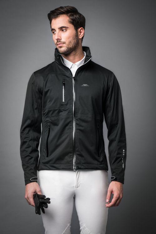 Alessandro Albanese Men's Milis All-Year Waterproof Jacket - Black