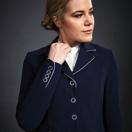 Dublin Black Women's Diana Competition Jacket - Navy