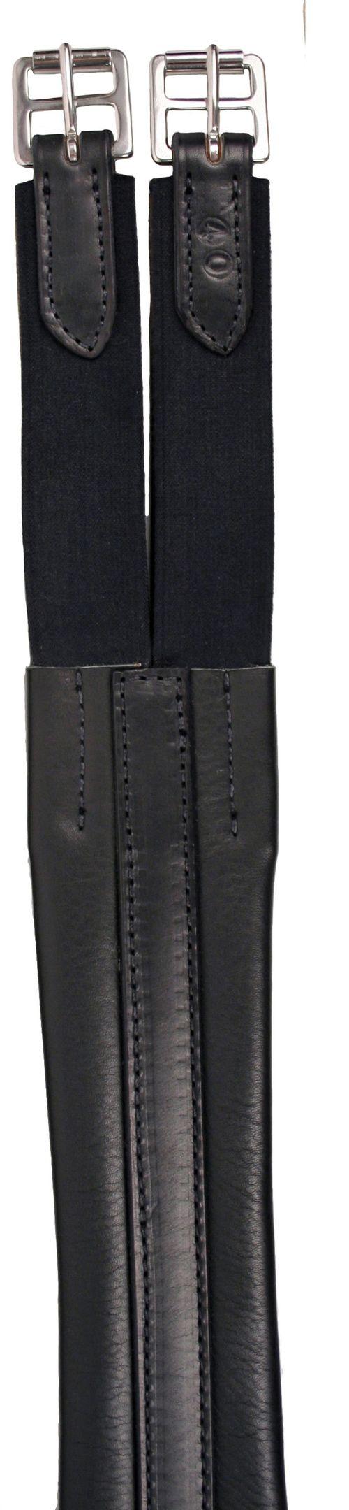 Nunn Finer Contour Elastic Double End Girth - Black