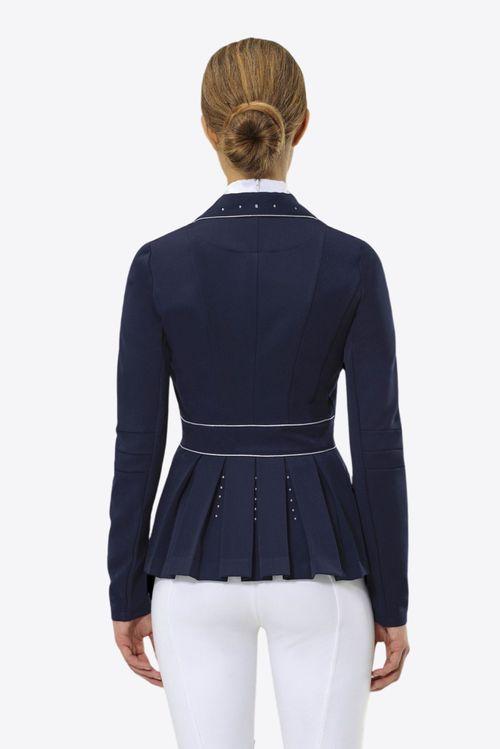 Cavalliera Women's Crystal Purity Show Jacket - Navy Blue