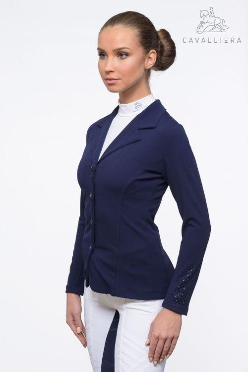 Cavalliera Women's Superior Show Jacket - Navy Blue