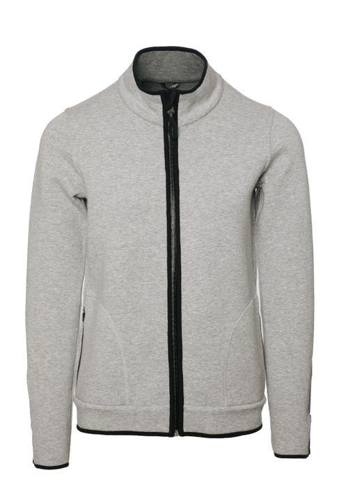 Alessandro Albanese Women's Barletta Bonded Fleece Jacket - Light Grey
