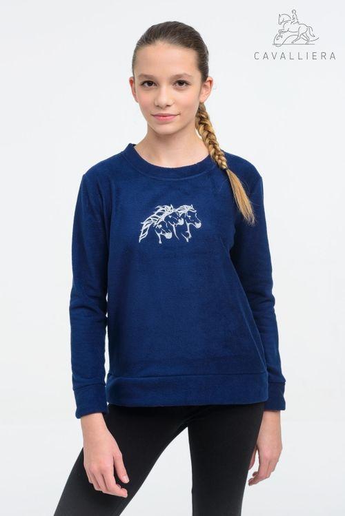 Cavalliera Kids' Ivy Sweater - Navy Blue