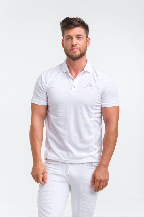 Cavalliera Men's Capital Technical Pique Polo Shirt - White