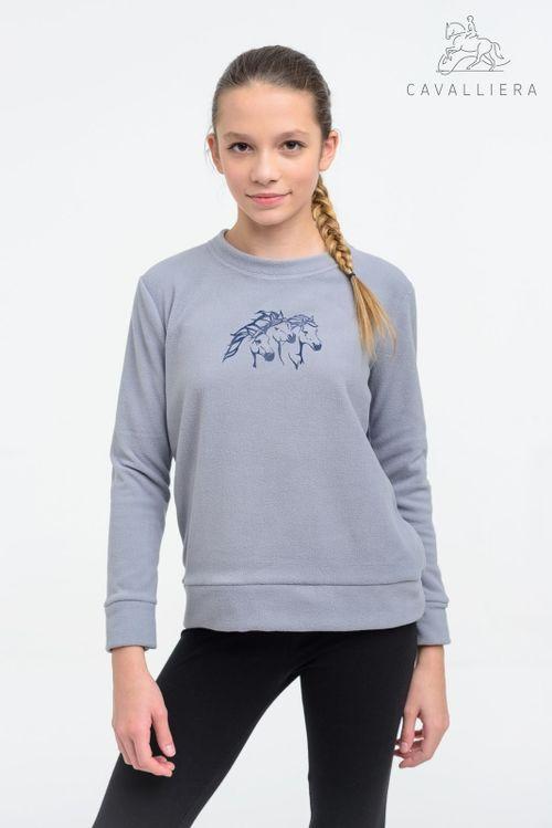 Cavalliera Kids' Ivy Sweater - Grey