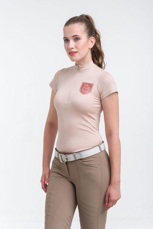 Cavalliera Women's ECO Short Sleeve Shirt - Pastel Rose