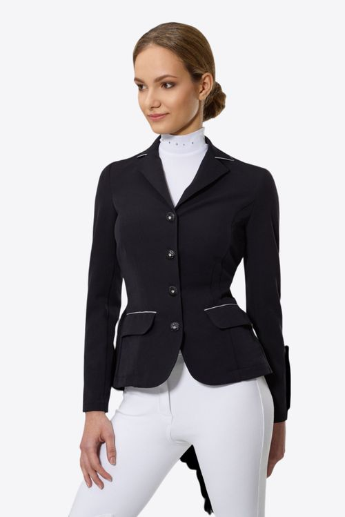 Cavalliera Women's Crystal Purity Show Jacket - Black