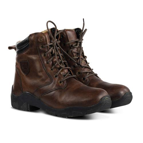 Horze Chamonix Winter Jodhpur Boots - Brown