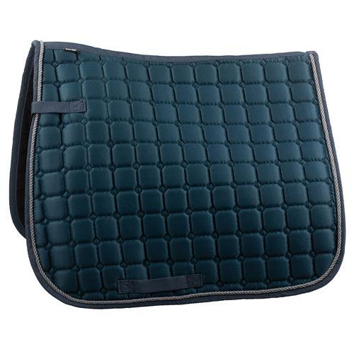 Horze Basic Dressage Saddle Pad - Orion Blue/Gray