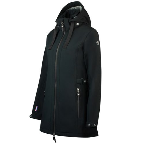 Horze Women's Freya Long Softshell Jacket - Black