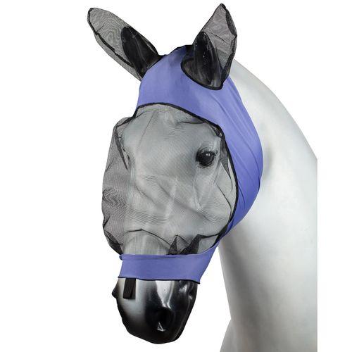 Horze Soft Stretch Fly Mask - Purple
