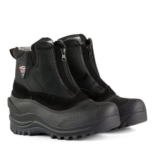 Horze Women's Zip Stable Boots - Black