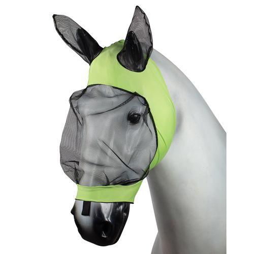 Horze Soft Stretch Fly Mask - Light Green