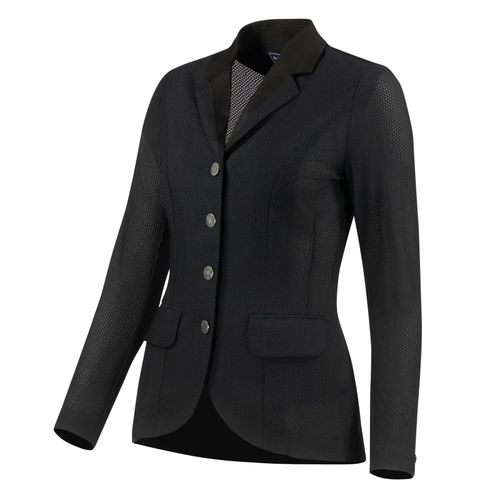 B Vertigo Women's Gabrielle Mesh Show Jacket - Black