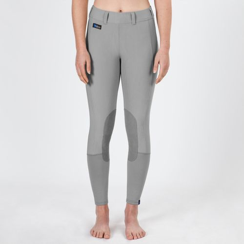 Irideon Kids' Cadence Knee Patch Tights - Dove Grey