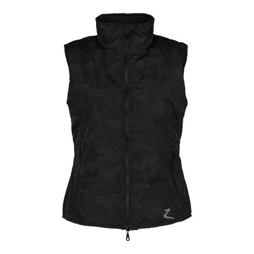 Horze Camo Luminox Vest - Black/Silver