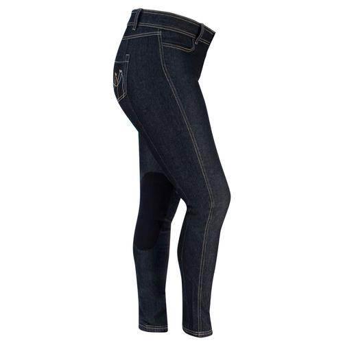 Irideon Women's Denim Breeches - Black