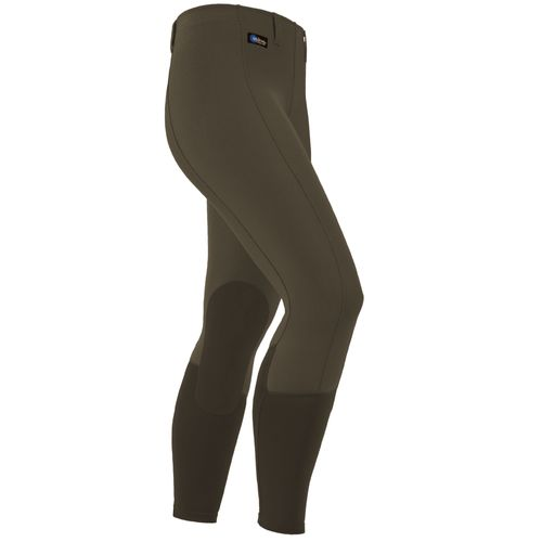 Irideon Kids' Cadence Knee Patch Tights - Caffe