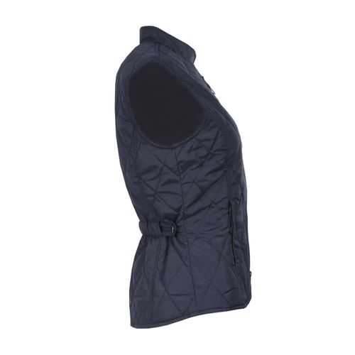 Horze Kids' Classic Quilted Vest - Peacoat Dark Blue