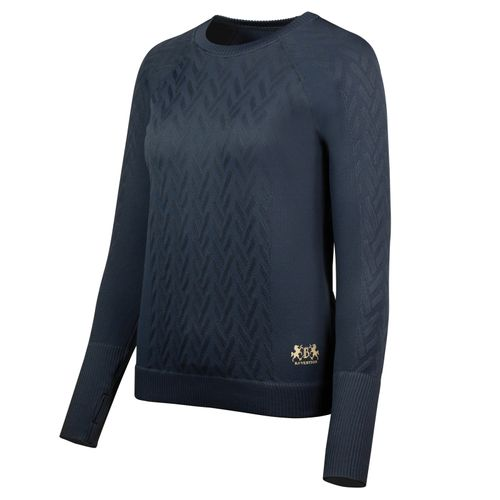 B Vertigo Women's Marena Pullover Sweater - Dark Navy