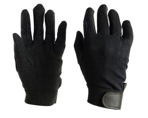 Dublin Kids' Track Riding Gloves - Black
