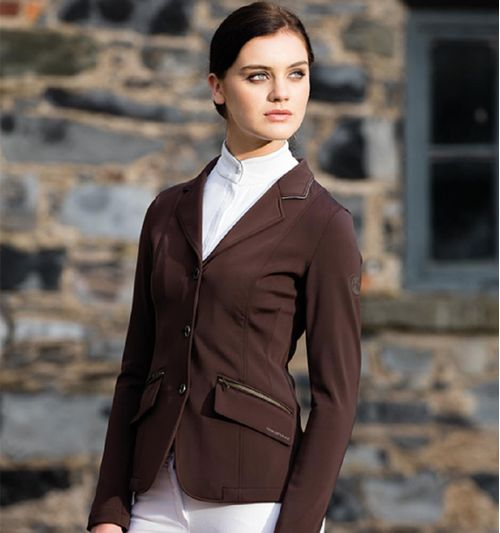 Horseware Women's Knitted Competition Jacket - Chocolate